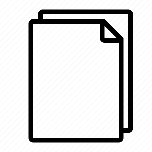 document, pages icon