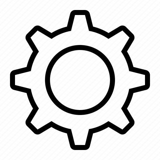 cog, preferences, settings icon