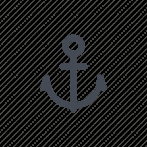 anchor, boat, fishing, marine life, ocean, sea, ship icon