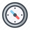 compass, direction, east, kompas, location, navigation, north icon