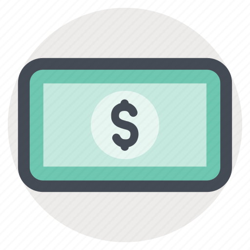 dollar, economy, finance, income, money, note, shopping icon
