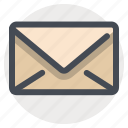 communication, email, envelope, item, letter, mail, shopping icon