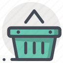add, basket, bucket, cart, item, shopping, wishlist icon