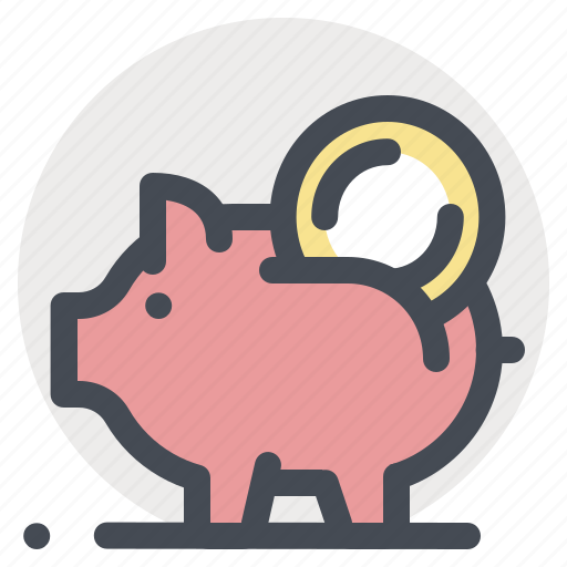 coin, funding, invest, payment, piggy, savings, wallet icon
