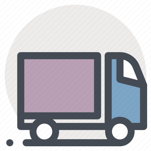 delivery, goods, package, transport, truck, vehicle icon