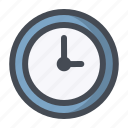 clock, ontime, reminder, schedule, shopping, time, waiting icon