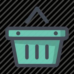 add, basket, bucket, cart, shop, shopping, wishlist icon