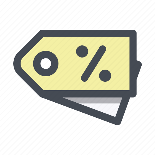 card, discount, label, percentage, shop, shopping, tag icon