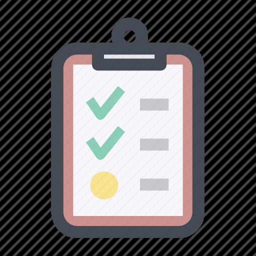 checklist, clipboard, item, list, mall, menu, shpping icon