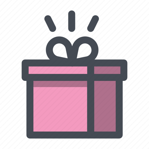 delivery, gift, package, parcel, present, shopping, surprise icon