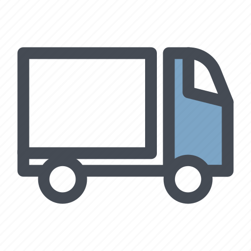 courier, delivery, order, package, shopping, transport, truck icon