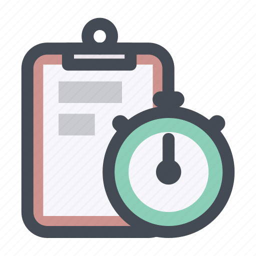 limit, list, manage, schedule, shopping, stopwatch, time icon