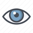 capture, eye, see, shopping, view, vision, watch icon