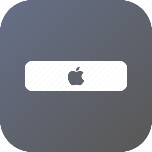 apple, box, setup, technology, tv icon