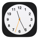 alarm, apple, clock, hour, schedule, time, watch icon