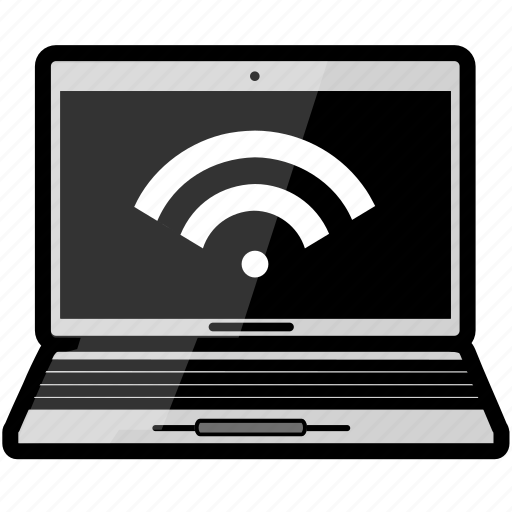 email, macbook, wifi icon
