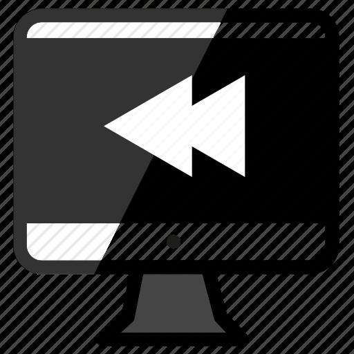 imac, rewind icon