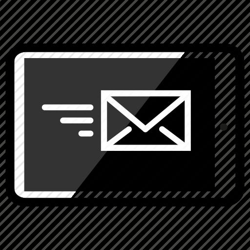 email, ipad, send icon