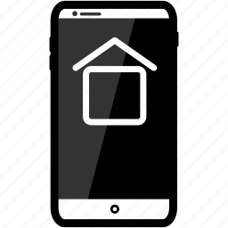 home, iphone icon