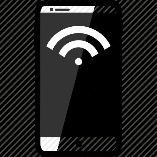 iphone, wifi icon