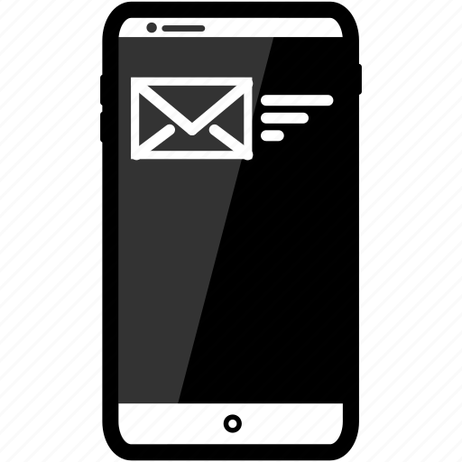 email, iphone, resend icon