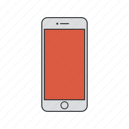 apple, communication, device, iphone, iphone 6, mobile, phone, smartphone icon