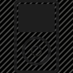 apple, device, ipod, music icon