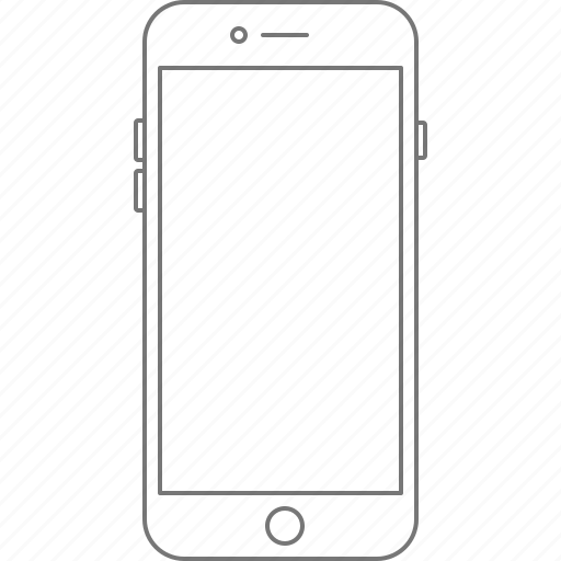 apple, call, device, iphone, iphone 6, iphone 7, phone icon