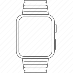 alarm, apple, apple watch, device, time, watch icon