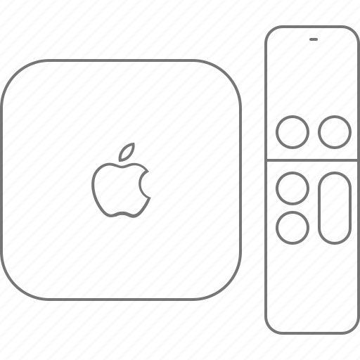 apple, device, pilot, tv icon