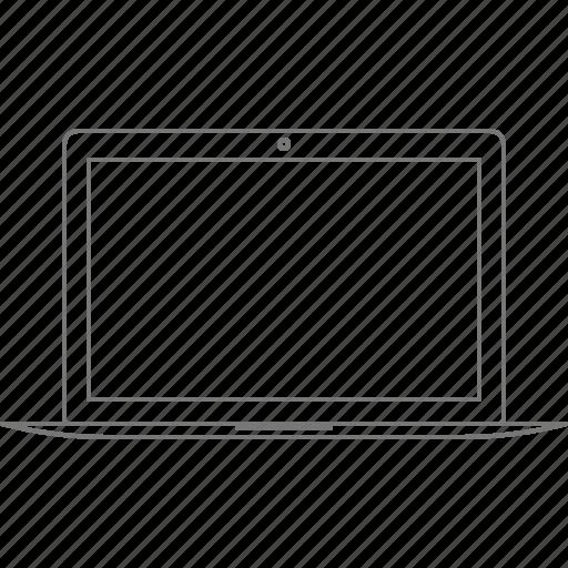 apple, computer, device, laptop, macbook, macbook air icon