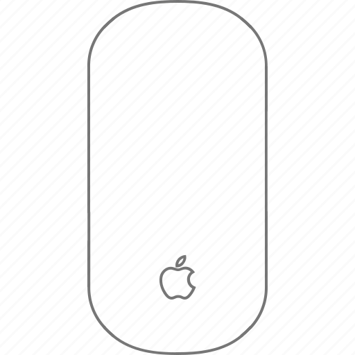accessory, apple, magic mouse, mouse icon