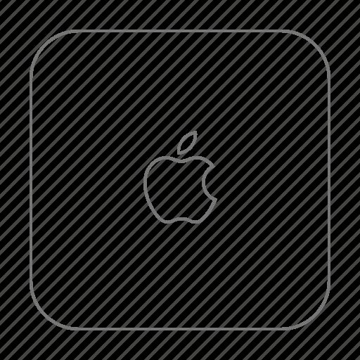 apple, computer, device, mac, mac mini icon