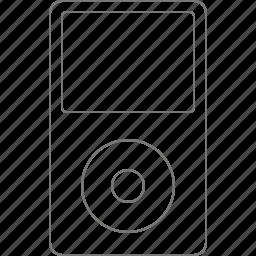apple, classic, device, ipod, media, multimedia, player icon