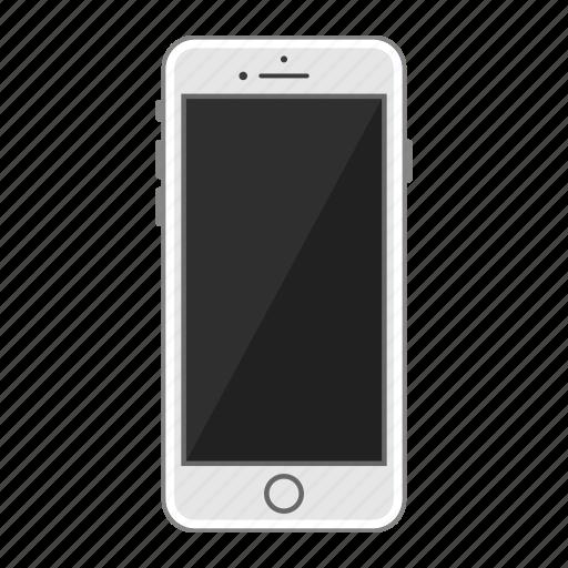 apple, iphone, mobile, phone, screen, smartphone icon