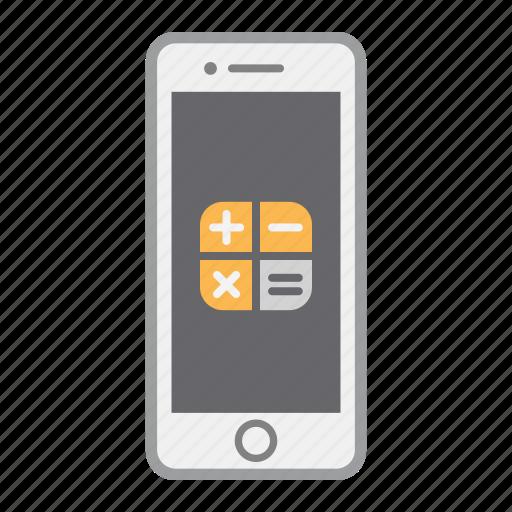 app, apple, calculator, iphone, mobile, phone, screen icon