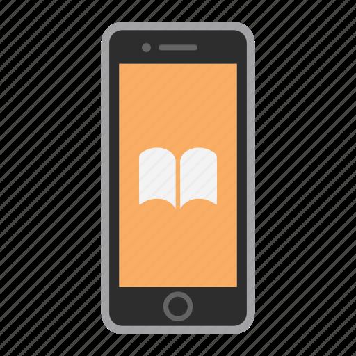 app, apple, ibooks, iphone, mobile, phone, screen icon