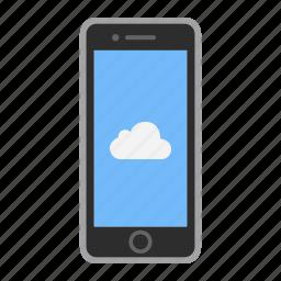 app, apple, icloud, iphone, mobile, phone, screen icon