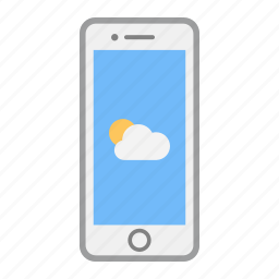 app, apple, iphone, mobile, phone, screen, weather icon