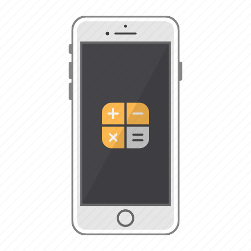 app, apple, calculator, iphone, mobile, phone, screen icon