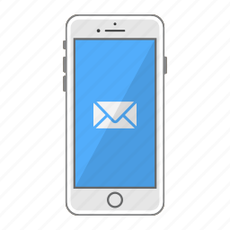 app, apple, iphone, mail, mobile, phone, screen icon