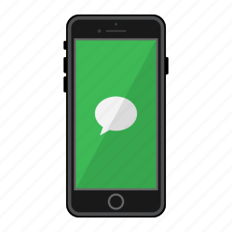 app, apple, iphone, messages, mobile, phone, screen icon