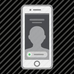 apple, call, ios, iphone, mobile, phone, screen icon