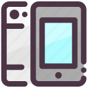 apple, gadget, iphone, mobile, smartphone icon