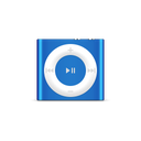 blue, product, shuffle, apple, ipod, deep