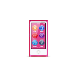 apple, hot, ipod, nano, pink, product icon