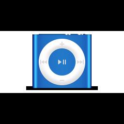 apple, blue, deep, ipod, product, shuffle icon