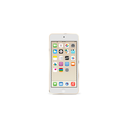 apple, gold, ipod, product, touch icon