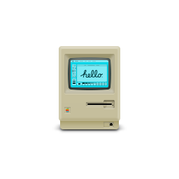 apple, macintosh, product icon