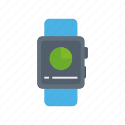 apple, chart, dashboard, pie, praph, watch icon